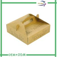 Wholesale Custom Designed Corrugated Paper  Box With Handle Manufacture from china suppliers