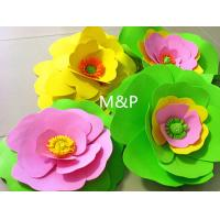 Wholesale Orange pink grass green white 1mm 10cm x10 cm origami roses Sponge Eva plastic DIY manual paper paper kindergarten from china suppliers