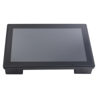Wholesale VGA Embedded Touch Monitor , Industrial Panel Monitor 12V DC from china suppliers