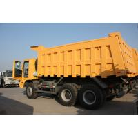 Wholesale 70 Tons HOWO Mining Tipper Dump Truck 371HP High Strength Steel Cargo Body from china suppliers