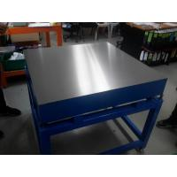 Buy cheap Cast Iron surface plate with stand from wholesalers