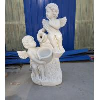 Wholesale Garden stone angel boy statue marble angel hand carved sculptures,stone carving supplier from china suppliers