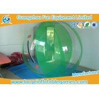 Germany TI - Zipper Water Rollers Inflatable Human Water Walking Ball ROHS SGS Certification