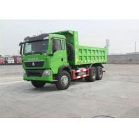 China Hydraulic Cylinder HOWO T5G 10 Wheeler Dump Truck With Large Loading Capacity on sale
