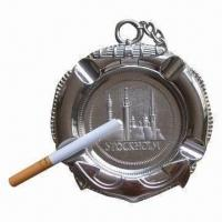 Buy cheap Ashtray, Made of Zinc Alloy, Customized Designs are Welcome from wholesalers