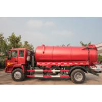 Wholesale EURO II 6m3 290hp Howo Sewage Suction Truck Removal Truck Pump Speed 500r / Min Long Life from china suppliers