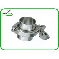 Wholesale ISO 2852 Sanitary Stainless Steel Tri Clamp Fittings , Clamp Pipe Couplings For Food Industry from china suppliers