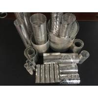 spiral welded 316 metal pipes center core exporter filter frames perforated filter element