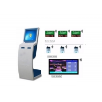 Wholesale Dual Printer Ticket Dispenser Customer Queuing System from china suppliers