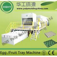 China waste paper pulp molding egg tray machine on sale