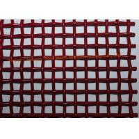 Wholesale Single Layers Woven High Carbon Wire Mesh Screen For Vibrating Stone Crushers from china suppliers
