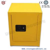 Wholesale Stainless Steel Iron Coated Flammable Yellow Powder  Chemical Storage Cabinets For Laboratory  /  Bench Top from china suppliers