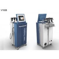 China Cellulite Removal Body Slimming Laser Lipo Equipment With Cavitation RF on sale