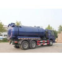 Wholesale 20CBM LHD 336HP Sewage Cleaning Truck With Time Saving Vacuum Pump from china suppliers