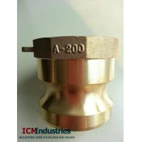 Buy cheap Forged brass camlock couping type A Adaptor from wholesalers