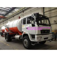 Wholesale Sinotruk Sanitation Enterprise Sewage Collection Truck 8-12CBM 4X2 Liquid Waste Trucks from china suppliers