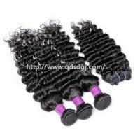 Wholesale Natural Curly 100% Virgin Unprocessed Human Hair Extension Weft from china suppliers