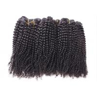 Wholesale Afro Kinky Curly Hair Extensions Weft For Indian Human Hair No Tangle from china suppliers