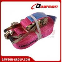 China EN12195-2 Polyester Ratchet Tie Down for lifting on sale