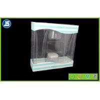 Wholesale Cosmetic Transparent Plastic Folding Cartons , Gift Folding Plastic Boxes from china suppliers