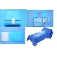 China Hospital Use Medical EO Sterile Fenestrated Drape Pack , Hip U Drape wholesale