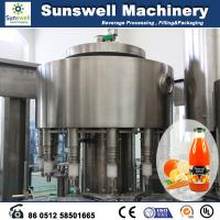 Buy cheap Stainless Steel Hot Filling Machine Automatic For Orange Juice from wholesalers