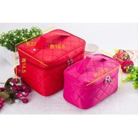 Quality Women Customized Travel Bags , Multi - Functional Waterproof Cosmetic Bag for sale