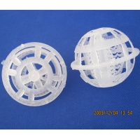Wholesale Planet Ball PP Cage Ball 50mm waste water treatment suspension floating Biofilm Packing Media Plastic Cage Ball pp bio b from china suppliers