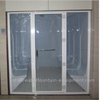 Wholesale Acrylic Wet Steam Sauna Room , Luxury 6 Person Home Steam Room 3640 * 1800 * 2150mm from china suppliers