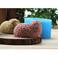 Wholesale Recyclable Sheep Silicone Rubber Mould , FDA Silicone Rubber Homemade Soap Moulds from china suppliers