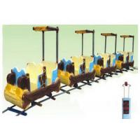 Wholesale Preschool Kids Ride On Train With Track Low Noise For 8-16 People from china suppliers