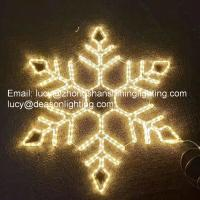 Wholesale giant led snowflake from china suppliers