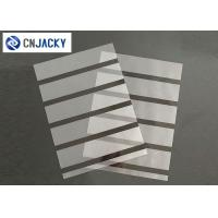 Buy cheap A4 0.08mm Coated Overlay Film Smart Card Material Magnetic Strip With Hi-Co Lo from wholesalers