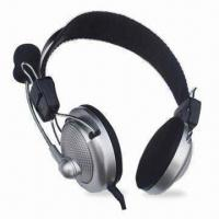 Quality Wired Computer Headset with Mic, High Stereo Sound and Mic Frequency Range From for sale