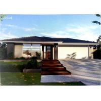 Wholesale Prefabricated Light Steel Prefab Bungalow Homes / Bungalow House For Living from china suppliers