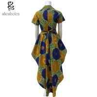 7afa011c0a296b ... Quality OEM Service Mixed Color Ankara African Print Tops Short Sleeve  High Low Style for sale ...