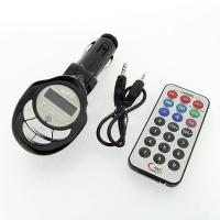 Quality Car Mp3 Player Fm Transmitter Usb Pen Drive / Sd / Mmc Slot Electronics Products for sale