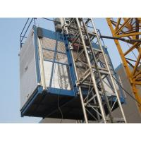 Wholesale Single Cage Construction Lifting Equipment without VFD , Platform Hoist from china suppliers