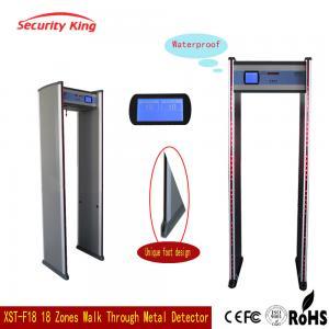 Adjusted Sensitivity XST - F18 Walk Through Metal Detector Rental LCD Screen