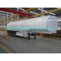 Wholesale 33 Cbm Heavy Duty Semi Trailers Oil Tank Trailer Stainless Steel 304 Material from china suppliers