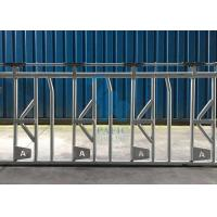 China Self Crossing Cattle Feed Barrier Gates , Heavy Duty Fence Line Feeder Panels wholesale