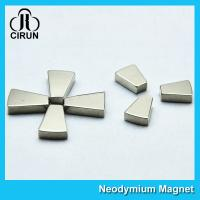 China Trapezoid Shaped N52 Industrial Neodymium Magnets Strong High Working Temperature on sale