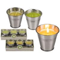 Quality Well packaged citronella air freshener bucket wholesale citronella candle for sale