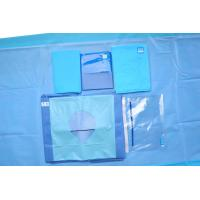 China Clinic Disposable Fenestrated Surgical Drape For Hip Surgery Hip U Drape wholesale