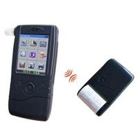 Law Enforcement Breathalyzer with Fuel Cell Sensor, Built-in Detachable Wireless Printer B