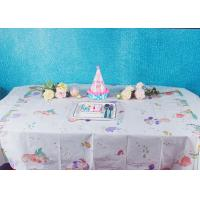 Buy cheap Unicorn Party Biodegradable Disposable Paper Tablecloth For Children Birthday from wholesalers