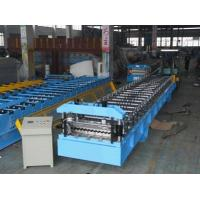 Buy cheap PLC Panasonic Corrugated Forming Machine Metal Forming Tools, Roll Forming from wholesalers
