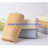 Wholesale The best nice dobby terry cloth organic cotton towels sale from china suppliers