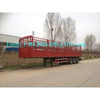 Wholesale Bulk Cargo Transport Heavy Duty Semi Trailers High Wall Fence Truck 60 Ton from china suppliers
