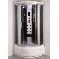 Wholesale Comtemporary Steam Room Shower Combo With Whirlpool Tub ABS Tray Material from china suppliers